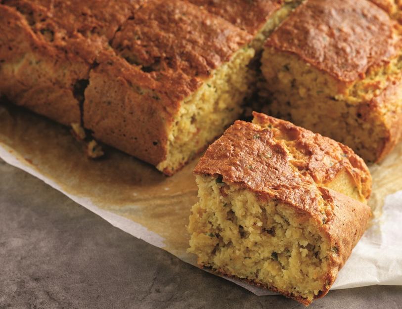 Hem doyurucu hem glutensiz: Sebzeli mercimek ekmeği #1