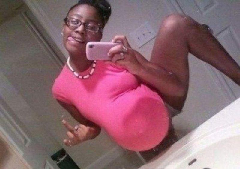 İlginç hamile kadın resimleri - 10. resim