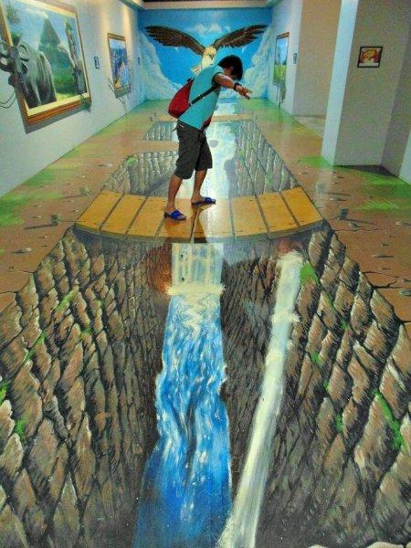 Bir Birinden Guzel 3 Boyutlu Sokak Boyama Sanati