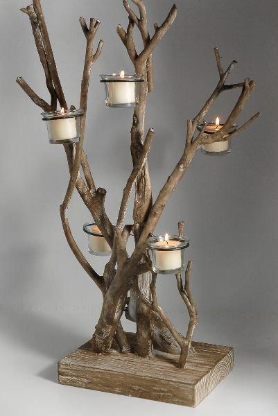 Make A Twig Tree For Christmas