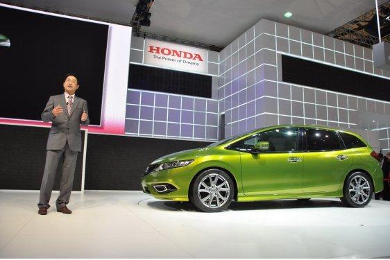 2014 Honda Jade Şanghay'da tanıtılıyor