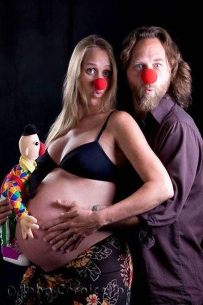 İlginç hamile kadın resimleri - 22. resim