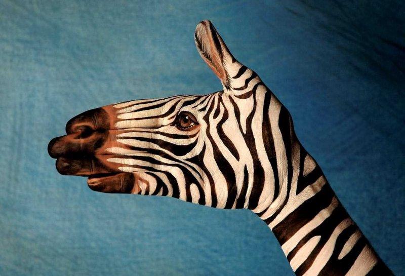 El Boyama Sanatı Ile Hayvan Figürleri