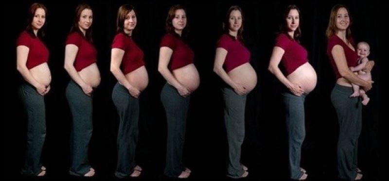İlginç hamile kadın resimleri - 30. resim