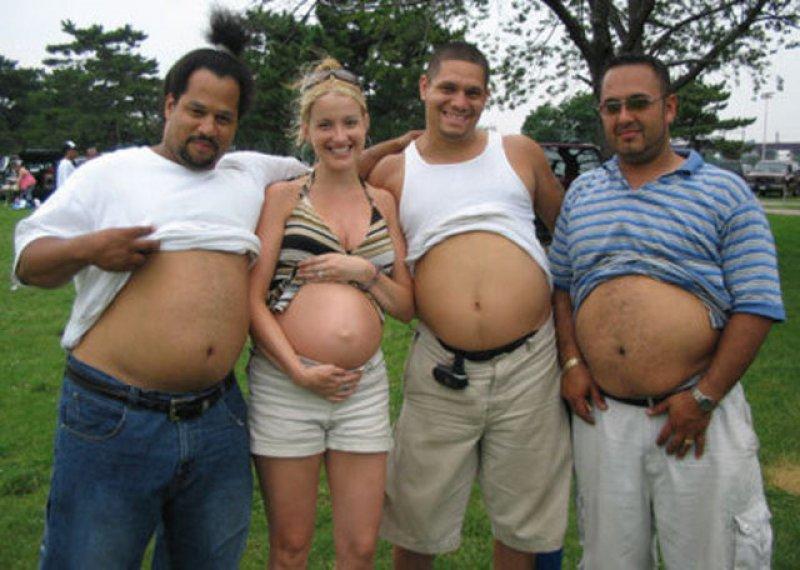 İlginç hamile kadın resimleri - 31. resim