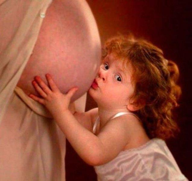 İlginç hamile kadın resimleri - 4. resim