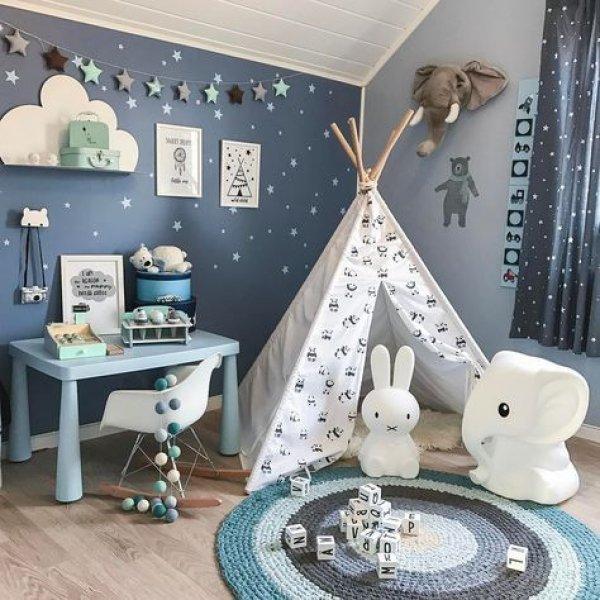 Bebek Odalari Icin Yeni Trend Pastel Tonlari