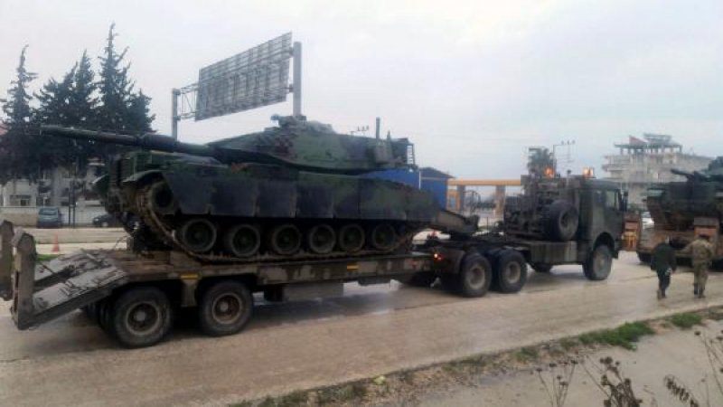 türk tankları afrinde ile ilgili görsel sonucu