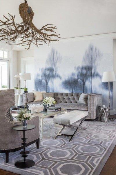 Modern Ve şık Salon Dekorasyonları Için Basit örnekler