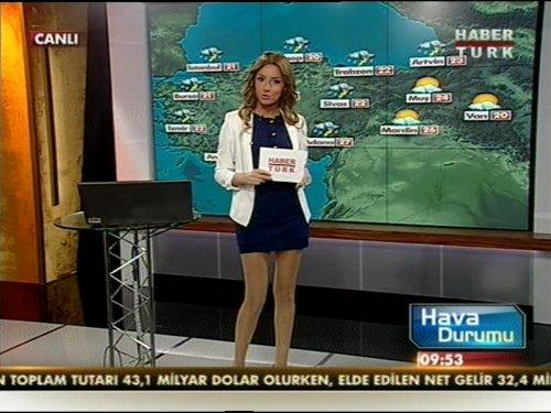 Habertürk hava durumu spikeri Selay Dilber