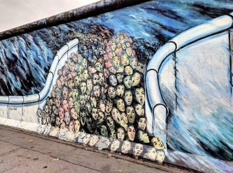 Sıradan Sokakları Güzelleştiren Duvar Resimleri
