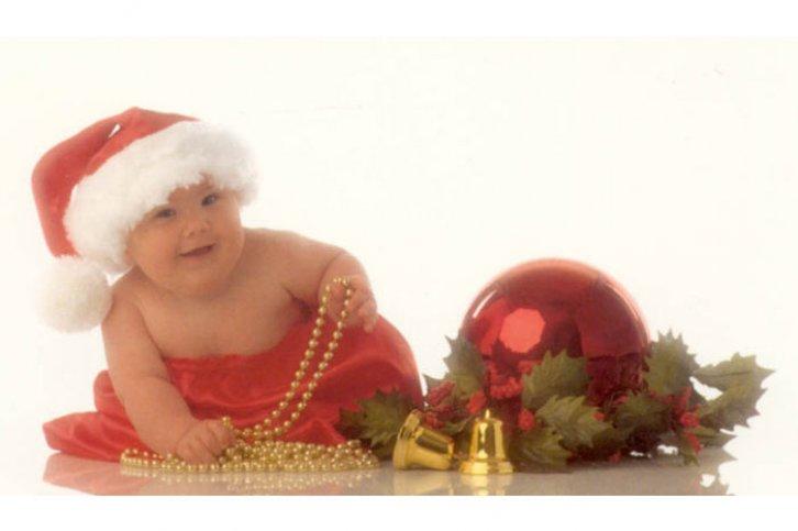 Для, открытки от анны геддес новогодние