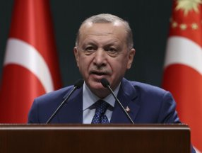 Turkey to continue curfews to fight virus: President