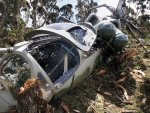 Military helicopter crash kills six in Mexico