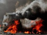 Bomb attack killed fourteen civilians in Syria
