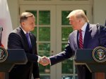 Trump and Polish President sign F-35 agreement