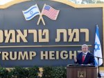 Netanyahu launches Trump Heights on occupied Golan Heights
