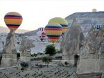 Cappadocia welcomes first hot-air balloon festival