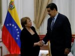 UN rights chief meets with President Maduro