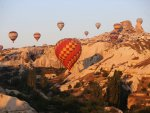 First hot air balloon festival to be held in Cappadocia