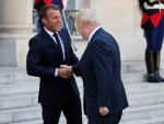 Macron's never-ending handshake with Johnson