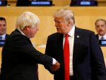 UK's Johnson-Trump meet at G7 summit in France