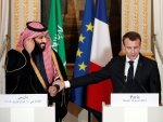 Macron send experts to S.Arabia to investigate oil attack