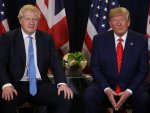 Trump, Johnson discuss security issues and tariffs by phone