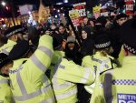 Protesters continue march against Johnson in UK