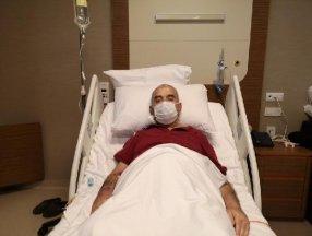 İstanbul'da yaşlı adamın karnından 10 kiloluk tümör çıktı