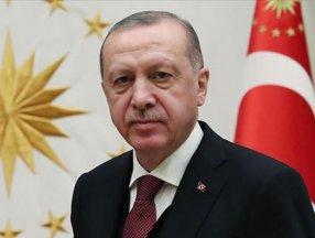 Cumhurbaşkanı Erdoğan, A Milli Erkek Voleybol Takımını kutladı