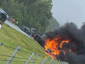 ABD'de 18 aracın karıştığı zincirleme kaza: 9 çocuk öldü