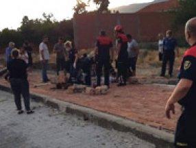 Aydın'da yaşlı kadın, fırtınanın yıktığı duvarın altında can verdi