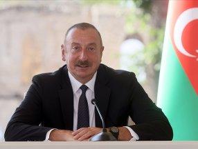 İlham Aliyev: Ermenistan, sınırları belirlemek için bizimle birlikte çalışmalıdır