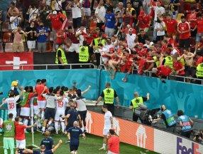 Fransa'yı eleyen İsviçre çeyrek finalde