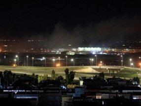 Erbil'de, ABD askerlerinin de bulunduğu havaalanına roketli saldırı