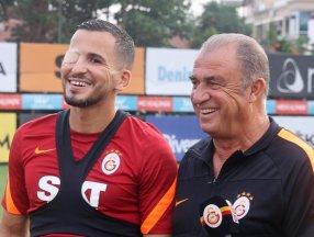 Omar Elabdellaoui takımla birlikte çalışmaya başladı