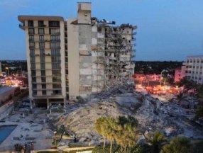 Miami'de çöken 13 katlı binada ölü sayısı 60'a çıktı