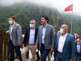 Murat Kurum: 2023 yılında özlediğimiz Ayder'imize kavuşacağız