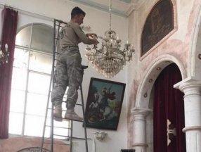 TSK, Rasulayn'daki Martuma Süryani Ortodoks Kilisesi'ni onardı