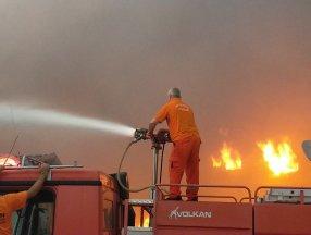 Kahramanmaraş'taki yangın kontrol altına alındı