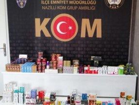 Aydın'da kaçakçılık operasyonu