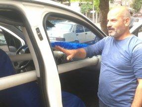 Bursa'da araçtaki etleri bozulmaması için klimayı soğutucu olarak kullandı