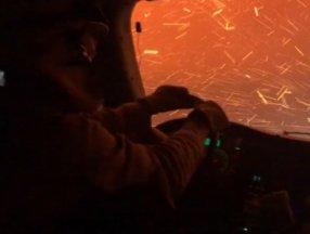 Kaliforniya'da itfaiyecilerin orman yangınıyla zorlu mücadelesi