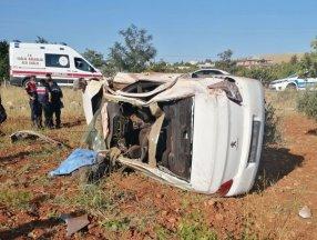 Gaziantep'te otomobil uçtu: 2 ölü