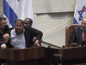 İsrail'de Arap vekile terörist diyen aşırı sağcı vekil meclisten kovuldu