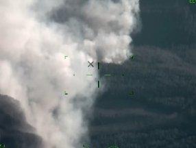 Manavgat yangını İHA ile havadan görüntülendi