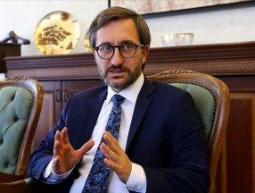 Fahrettin Altun: Söndürme çalışmaları titizlikle devam ediyor