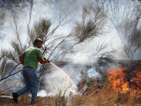 Mersin'de yangından etkilenen 132 kişi taburcu edildi