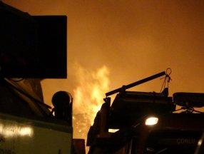 Tekirdağ'da fabrikada yangın meydana geldi